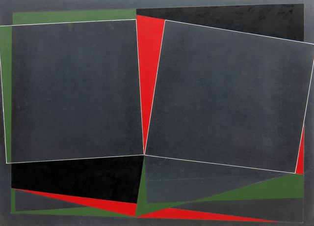 , 'Blackmayne: Reciprocal Forms with red and green, No.2,' 2008, Waterhouse & Dodd