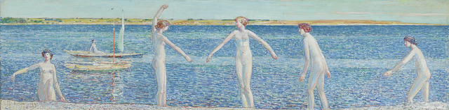 Childe Hassam, 'Gardiner's Island: The Back Dive', 1921,  M.S. Rau Antiques