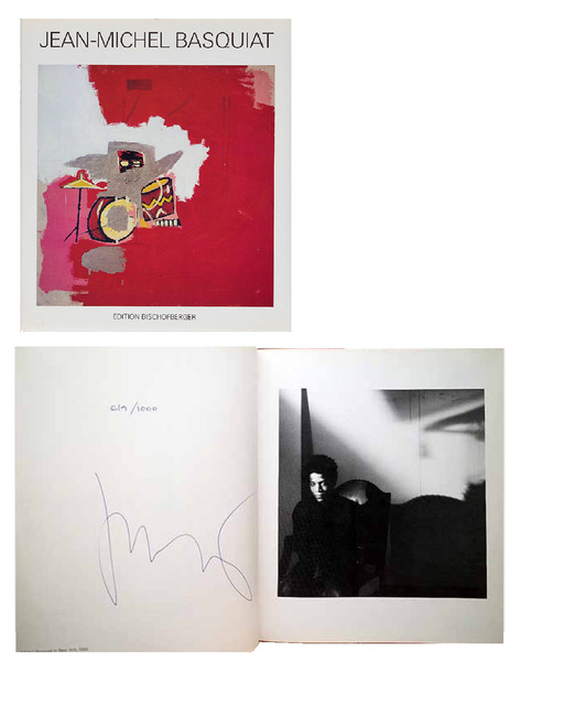 ", '""Jean-Michel Basquiat"", PAINTINGS, 1985, SIGNED, Edition 619/1000, Galerie Bruno Bischofberger,' 1985, VINCE fine arts/ephemera"