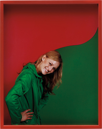 Elad Lassry, 'Girl (Green/Red),' 2011, Phillips: New Now (December 2016)