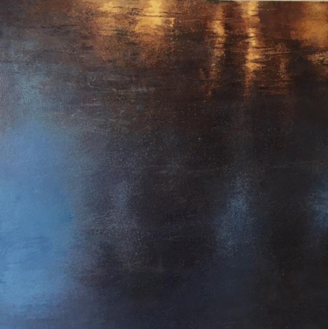 Gail Chase Bien, 'Blue Pond', 2017 -2018, Andra Norris Gallery