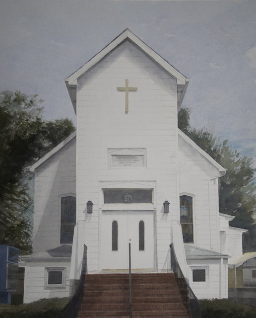, 'Second Baptist Church,' 2013, Grenning Gallery