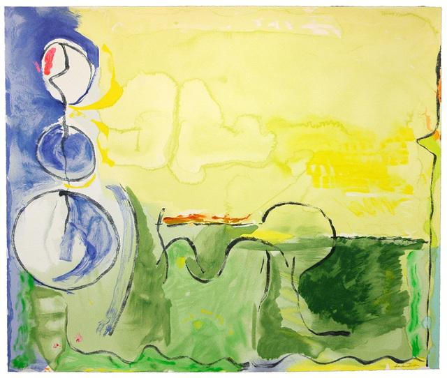 Helen Frankenthaler, 'Flotilla', 2006, Hamilton-Selway Fine Art