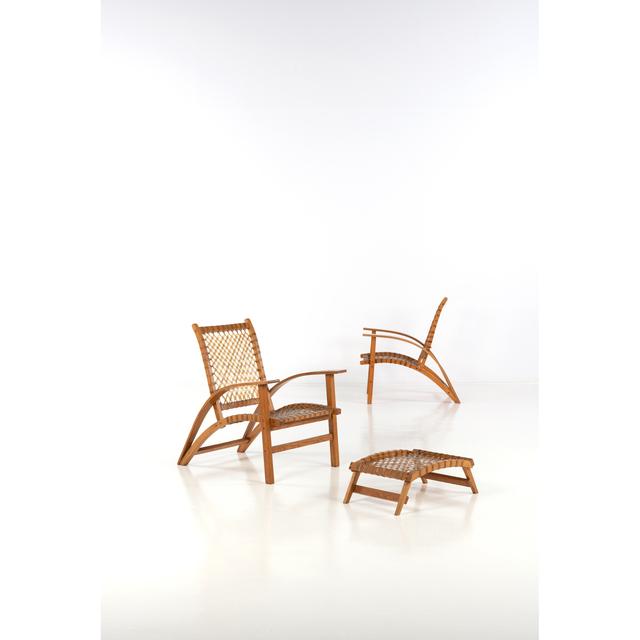 Carl Koch, 'Sno-Shoe - A Pair Of Chairs And Ottoman', 1952, PIASA