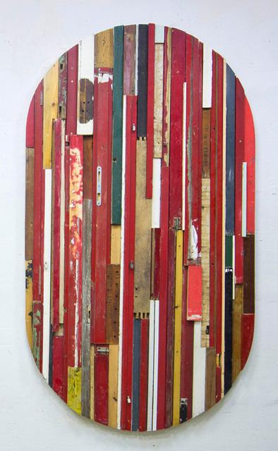 , 'City Mirror (Red Ellipse),' 2014, Drina Gallery