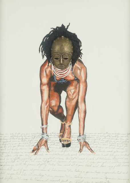 , 'Ashanti Lauryn - African Diva,' 2017, Childs Gallery