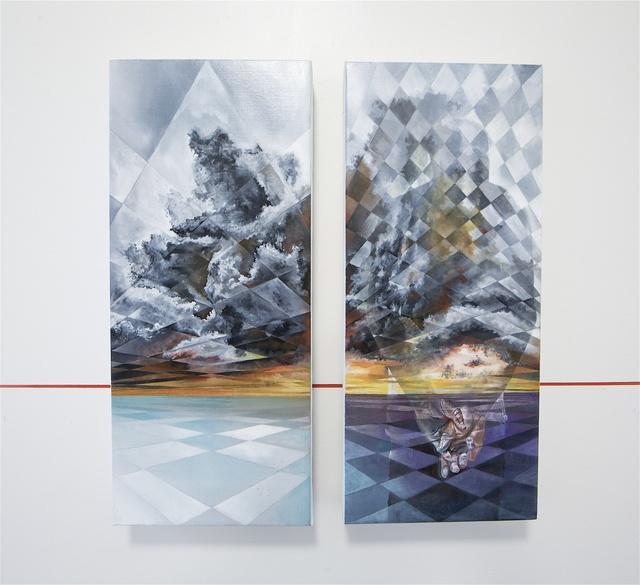, 'Horizon 2.1 (diptych),' 2016, Mirus Gallery