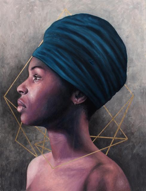 , 'Zahrea in Profile,' 2017, Resource Art
