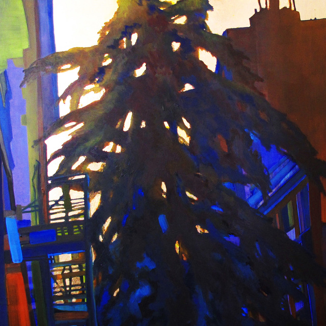 , 'Picea Pendula,' 2018, The Painting Center