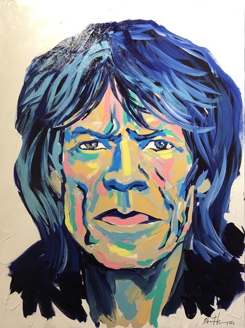 , 'Mick Jagger,' 2017, Maddox Gallery