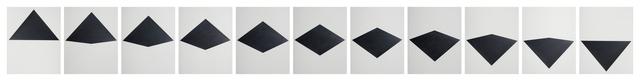 , 'Estudio sobre triángulo (inversión 2),' 2016, MARSO