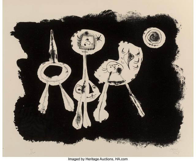 Joan Miró, 'Album 13', 1948, Heritage Auctions
