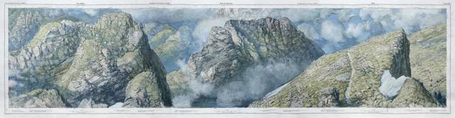 , 'Valles d'Illiez Dent de Morcles Sion,' 2015, John Martin Gallery