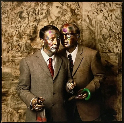 , 'Gilbert and George, New York City,' 1991, Staley-Wise Gallery