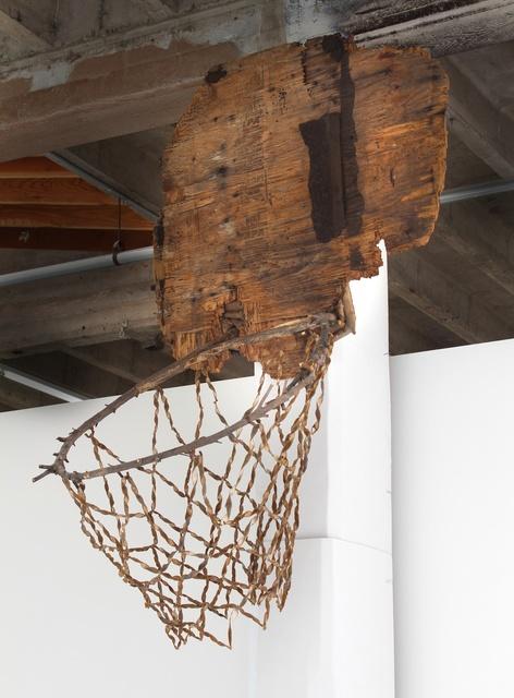 , 'Man of Sorrows (basketball hoop),' 2015, Hosfelt Gallery
