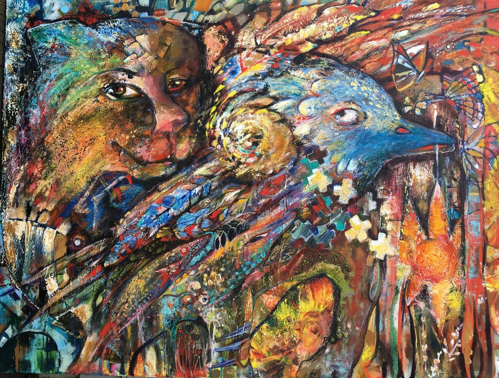 Https Artwork Matthew Lapenta Angel 1 The Wetbrush Watercolor Mossaics Starburst Larger