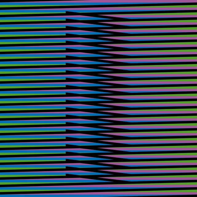 , 'Inducción Cromática a Doble Frecuencia Nora 1,' 2011, Marion Gallery