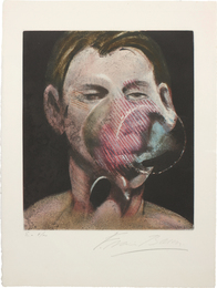 Francis Bacon, 'Portrait of Peter Beard,' 1976, Phillips: Evening and Day Editions