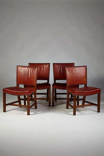 , 'Set of four dining chairs,' 1920s, Modernity