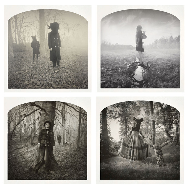 , '(Clockwise, start top left)2 Figures, New Dawn Fades, Plucked of My Heart, Forest Scene,' , Yancey Richardson Gallery