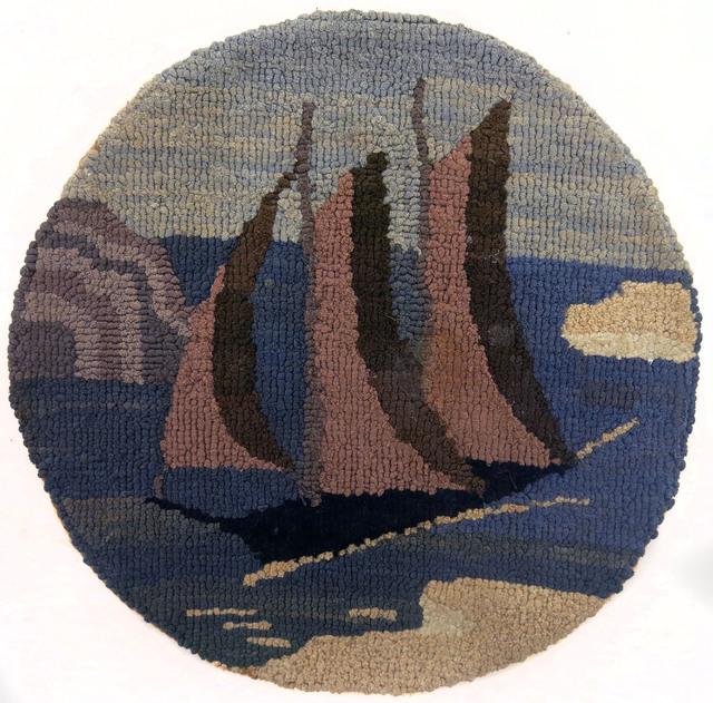 , 'Three Mast Schooner with Icebergs,' , Edward Thorp Gallery
