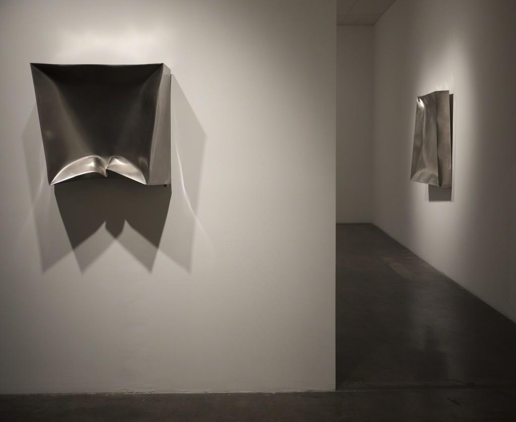 "Installation view of Ewerdt Hilgemann ""Fanta Rhei"" at Samuel Freeman, September 2010."