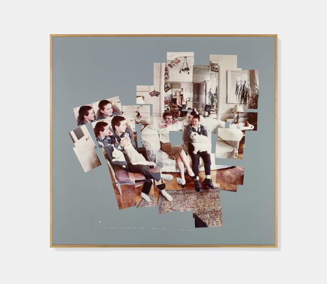 David Hockney, 'George, Blanche, Celia, Albert and Percy, London 1983', 1983, Offer Waterman