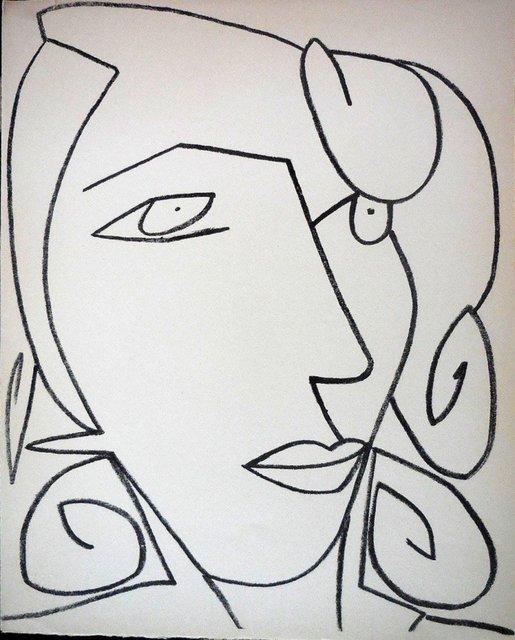 Françoise Gilot, 'Portrait of a Woman', 1950-1959, Lions Gallery