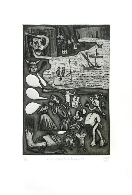 , 'Las Tentaciones de San Antonio #1,' 2018, MAIA Contemporary