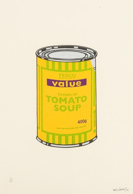 Banksy, 'Soup Can (Banana/Lime/Purple)', 2005, Forum Auctions