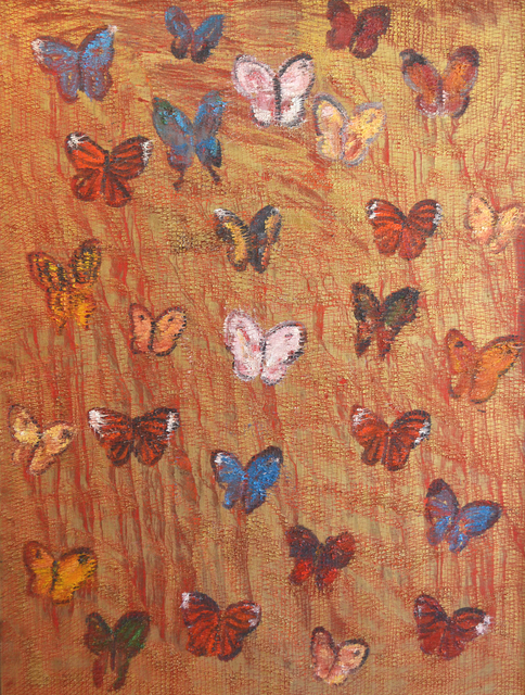 , 'Red Butterflies,' 2008, Madelyn Jordon Fine Art