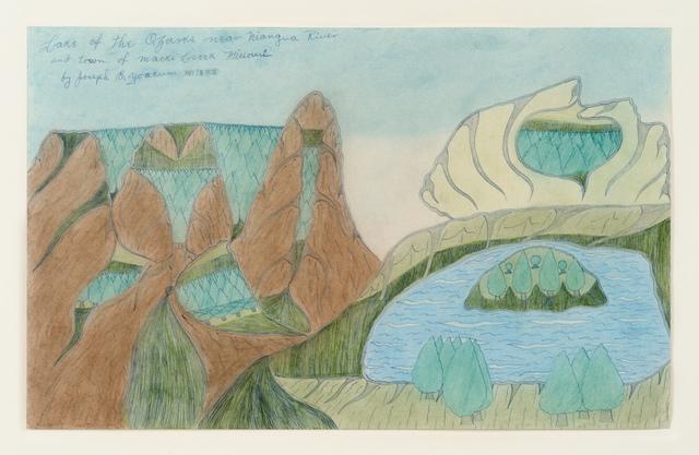 Joseph Yoakum, 'Lake of the Ozarks', 1970, Fleisher/Ollman