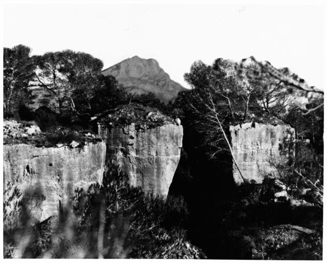 , 'Bibémus quarry with Mont Sainte-Victoire,' 1935, Temporary Gallery