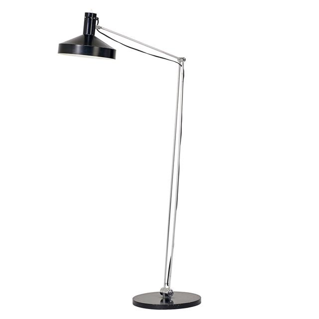 Rico Baltensweiler, 'Adjustable Floor Lamp, Switzerland', 1950s, Rago/Wright