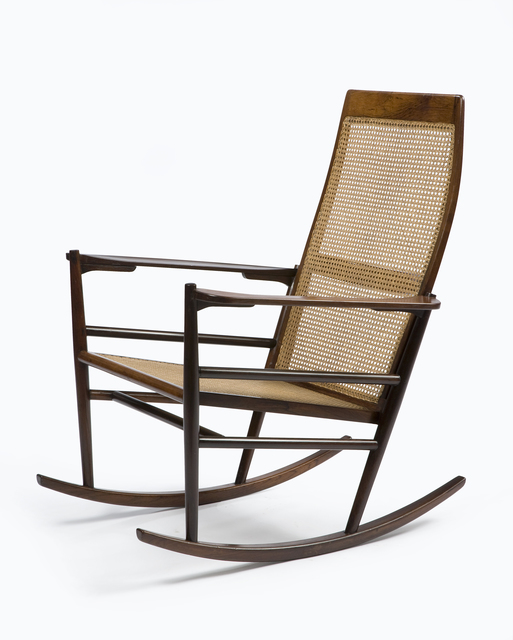 ", '""Cadeira de Ambalo"" Rocking Chair,' 1948, R & Company"