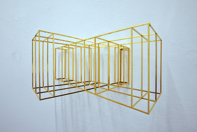 , 'Wing #2 (gold),' 2016, The Flat - Massimo Carasi