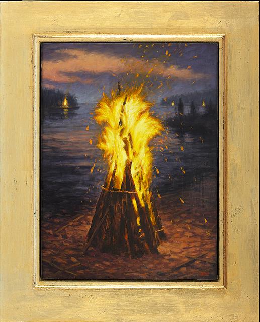 , 'Fyr Ball II,' 2016, ArtHelix Gallery