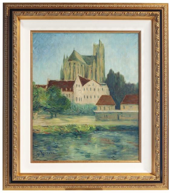, 'La Cathédrale d'Auxerre,' 1907, Trinity House Paintings