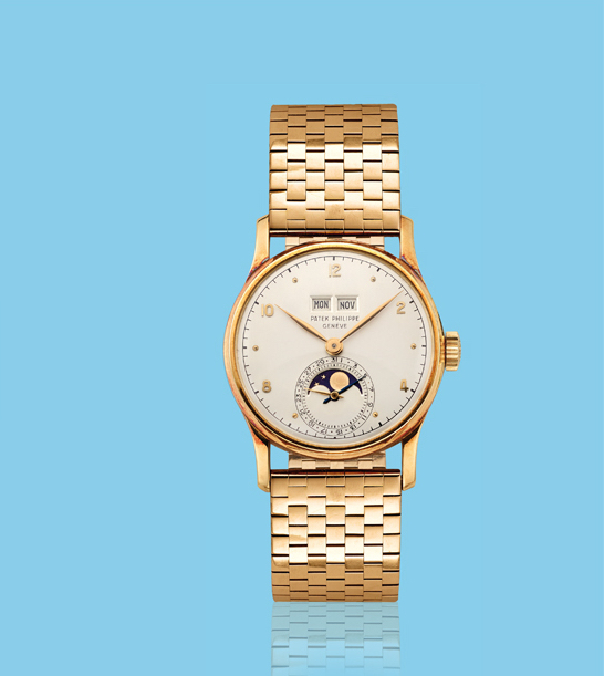 , 'Yellow gold wristwatch, ref. 1526,' ca. 1950, Davide Parmegiani Fine Watches