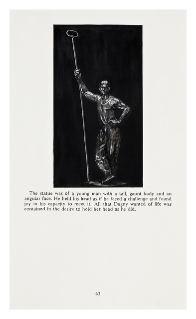 Yevgeniy Fiks, 'Ayn Rand in Illustrations (Atlas Shrugged, page 63)', 2010, Winkleman Gallery