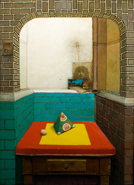 , 'Roman Interior Kitchen (with Milk Carton),' 1969, Forum Gallery