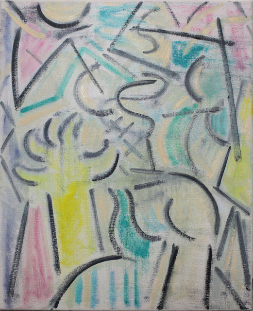 , 'Studio Hands (Pastels),' 2018, Charlie Smith London