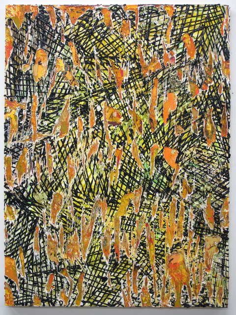 , 'Cutpainting 59,' 2014, Sultana