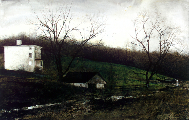 , 'Evening at Kuerners,' 1970, Seattle Art Museum