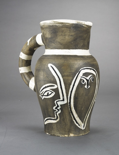 Pablo Picasso, 'Pichet gravé gris (A.R. 246)', 1954, Other, Terre de faïence pitcher, painted in colors and partially glazed, Sotheby's
