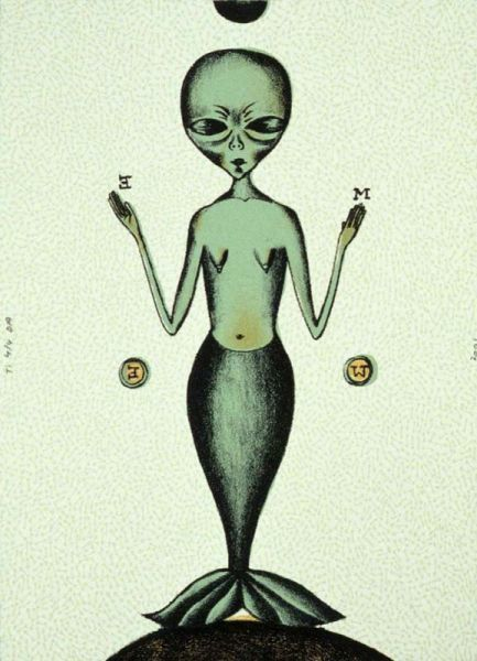 , 'Alien Mermaid,' 2000, Tamarind Institute