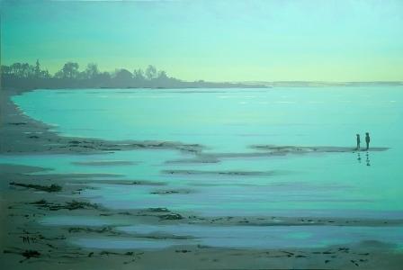 , 'Twilight on the Lake,' 2019, Gibson Fine Art