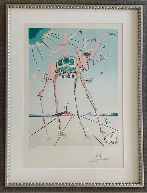 Salvador Dalí, 'Celestial Elephant (Space Elephant)', 1979, Print, Lithograph, Vanessa Villegas Art Advisory