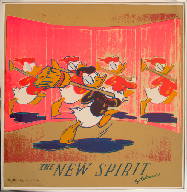 Andy Warhol, 'The New Spirit (Donald Duck)', 1985, David Benrimon Fine Art