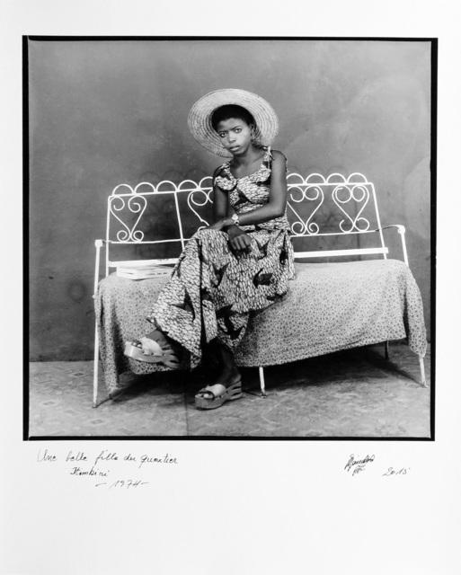 , 'Une belle fille du quartier Itimbiri,' 1974, Magnin-A